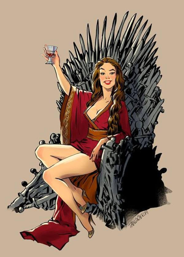 the-ladies-from-game-of-thrones-pin-up-edition-5